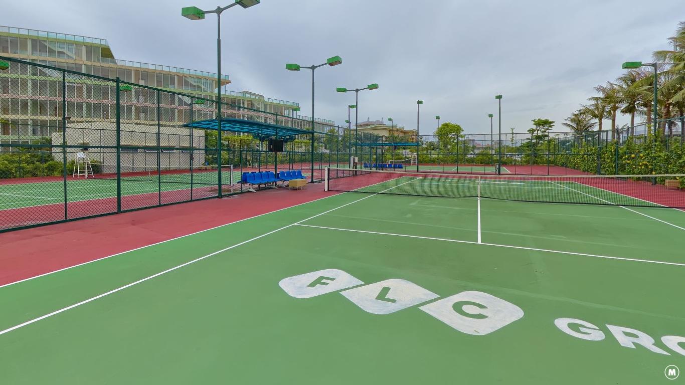Sân Tennis Tại FLC Sầm Sơn