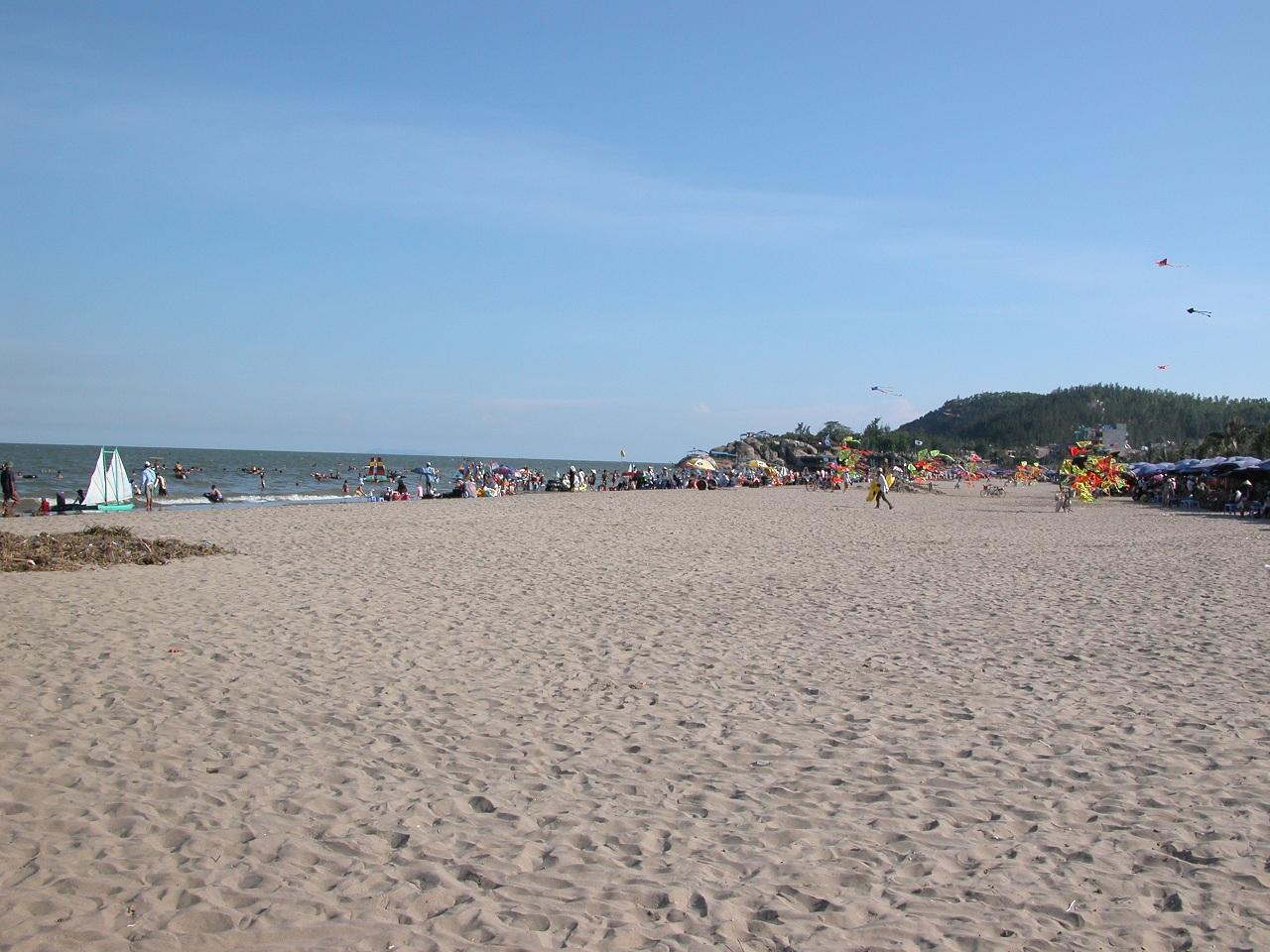 Bãi Cát Biển Sầm Sơn