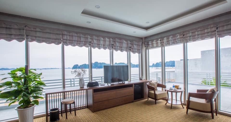 Phòng Ngủ Villa Tuần Châu Hạ Long