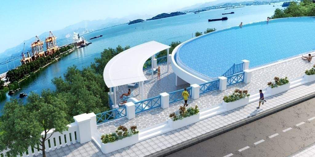 Bể Bơi Trung Tâm Villa Beverly Hạ Long