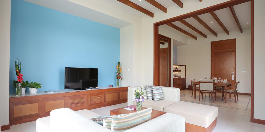 pool villa 1pn có bể bơi
